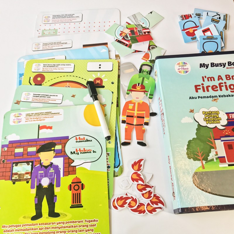 Busy Book - Firefighter